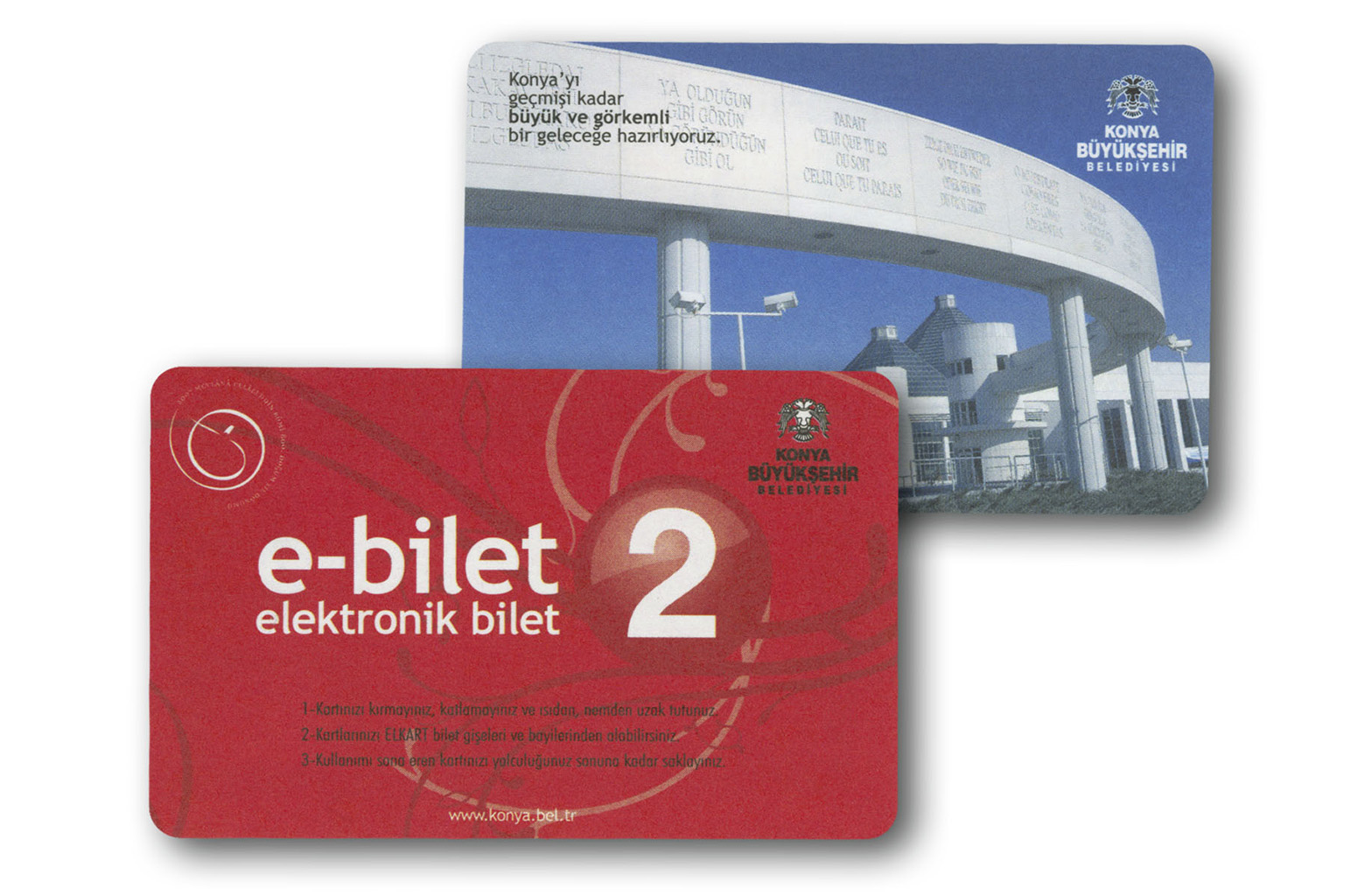 plastic card contact free RFID Ticket