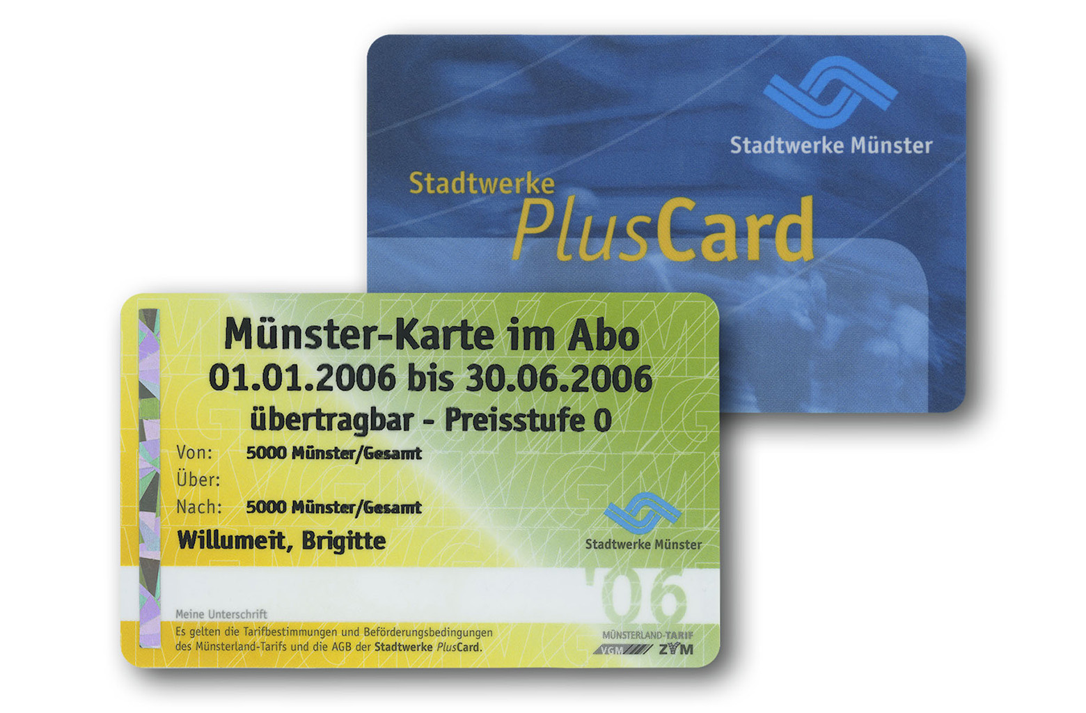 Print Security Printing Ticket RFID contactfree cards Fleischhauer