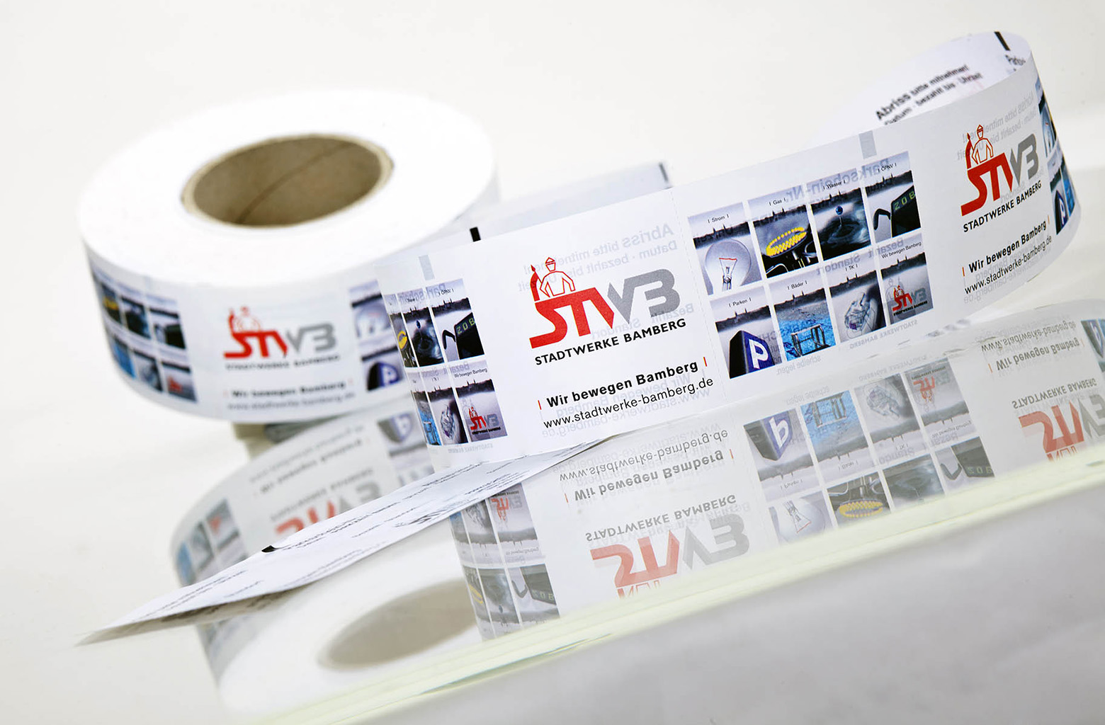 security printing thermal paper security print ticket roll
